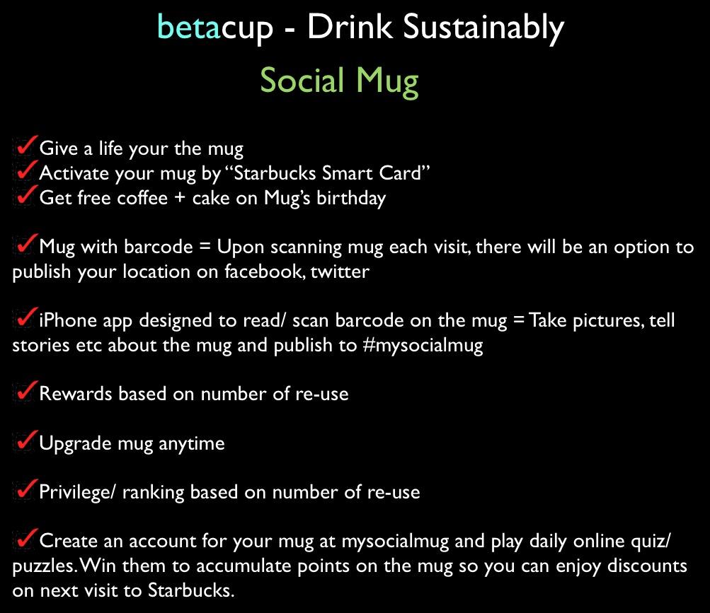 jovoto / Social Mug / Drink Sustainably / betacup