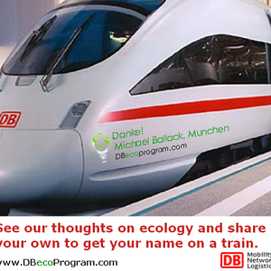 Get your name on a train