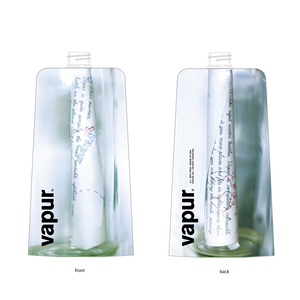 message in the bottle/vapur bottle is message