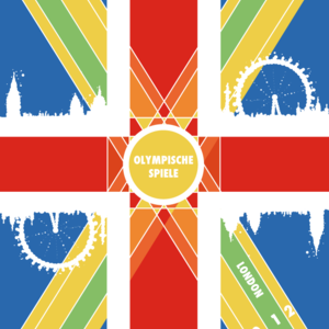 London-Olympic flag