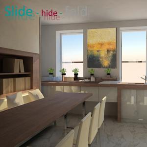 Slide - hide - fold