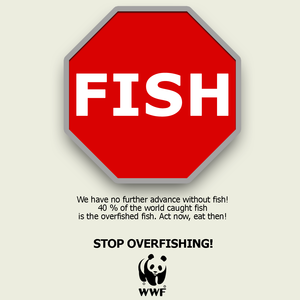 STOP-FISH SIGN