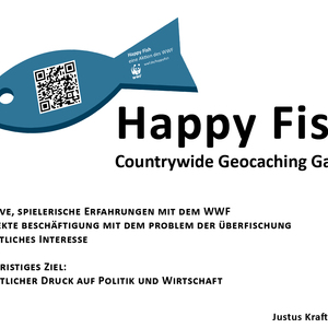 Happy Fish, Geocaching Game