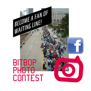 waiting line photo contest