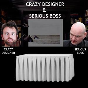 CRAZY DESIGNER & BOSS :-)