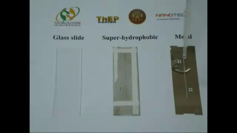 Super hydrophobic coating material 2 bigger