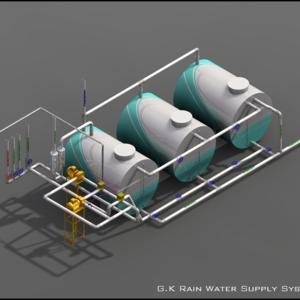 G.K Rain Water Supply System