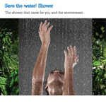 Save the water! Shower