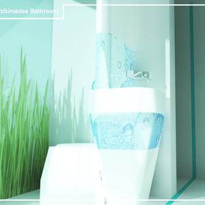 Archimedes bathroom