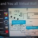 Virtual Wall im Hotelzimmer / Hotelhalle