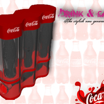 The Coca cola bag