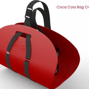 Coca Cola bag crate