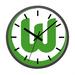 VFL Wolfsburg Wanduhr