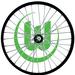 Eine Fahrradscheibe past für alle Fahrräder
