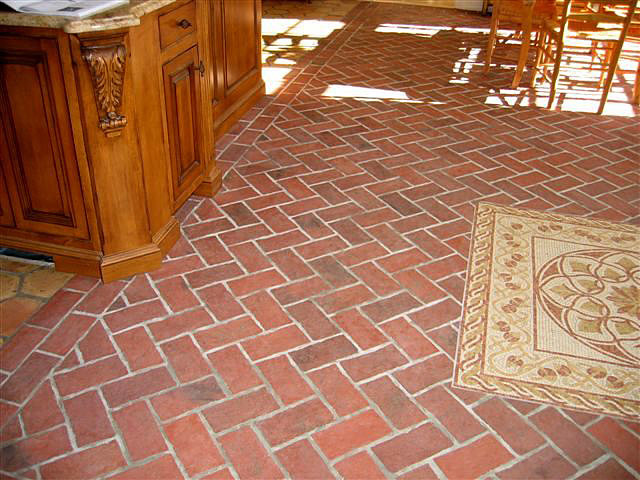 jovoto brick or granite pavers with rock and water features