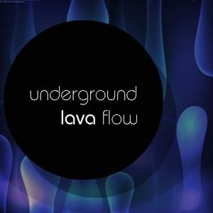 Underground lava flow