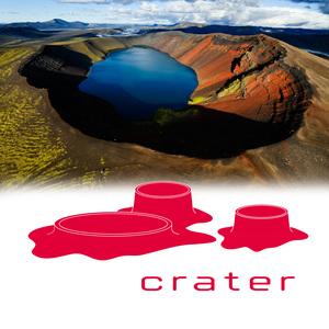 Crater. Unique Dining in Volcano Crater.