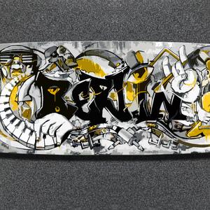 longboard graffiti