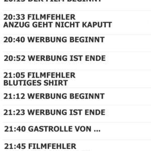 Chat über Filme