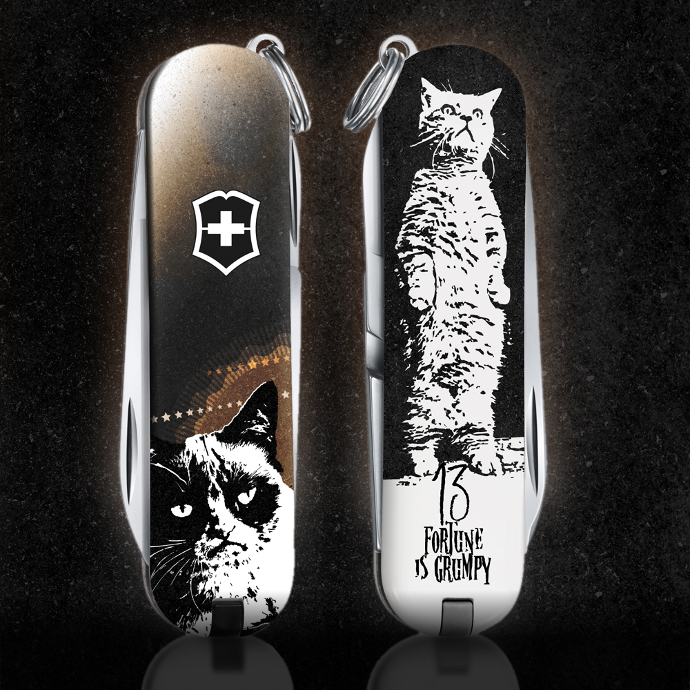 Jovoto Grumpy Cat Your Swiss Army Knife 2013 Victorinox