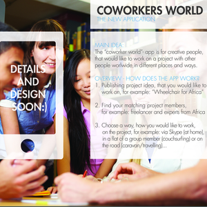CoworkERS WORLD - THE NEW APP