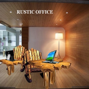 The rustic office