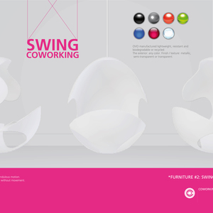 Furniture #2: Swing Coworking (Coworking campus network)