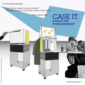 """Case It"" is a multiuse work assistant for coworkers"