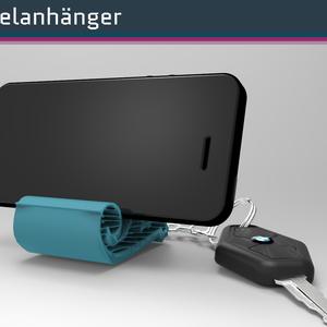 Schlüsselanhänger (Smartphone-Stand)
