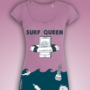 SURF QUEEN SHIRT