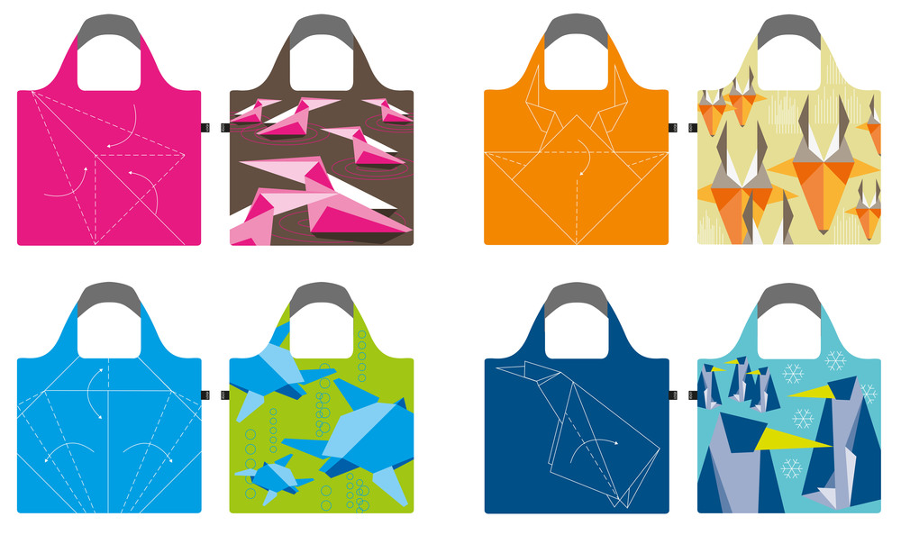 Jovoto Origami Shopping Bag Revolution Loqi Store Gmbh