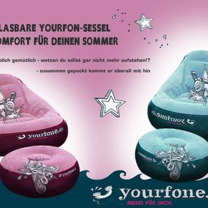 Yourfon-Aufblassessel