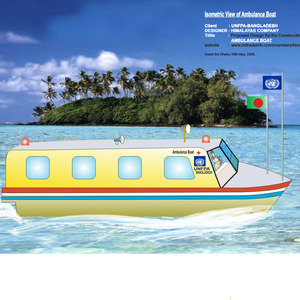 Proposed Designed of Ambulance Boat