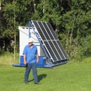 Simple Solar Pump for India