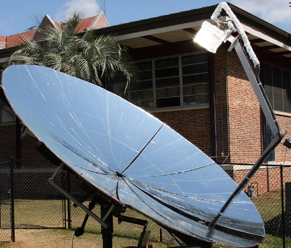 Solar concentrator bigger