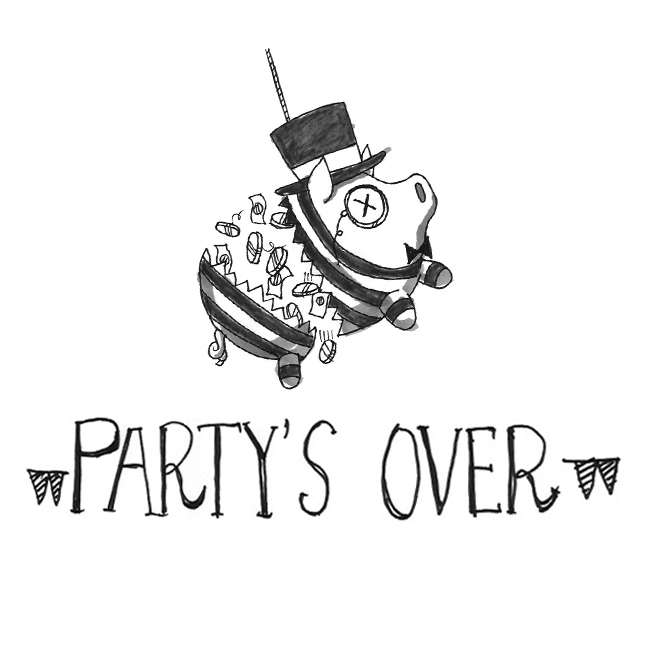 Partysover bigger