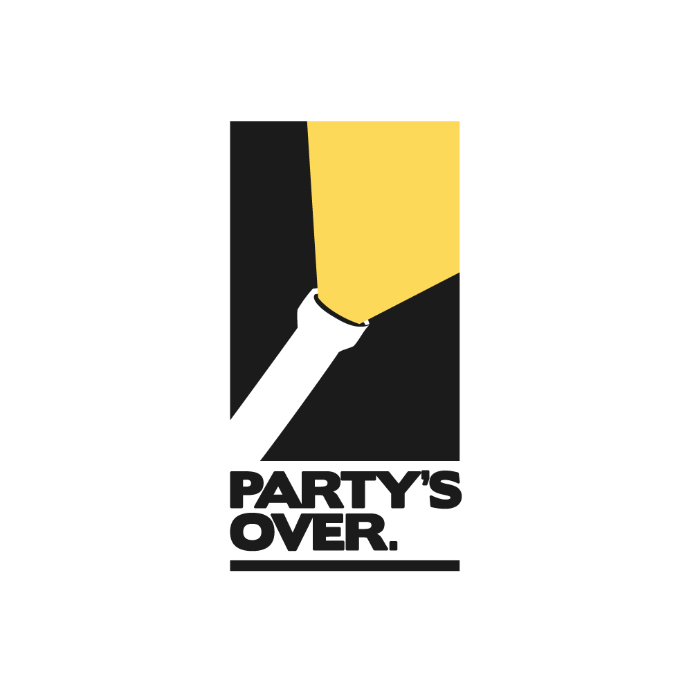 Partys over logo bigger