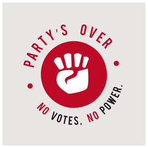 Party's Over > The people power