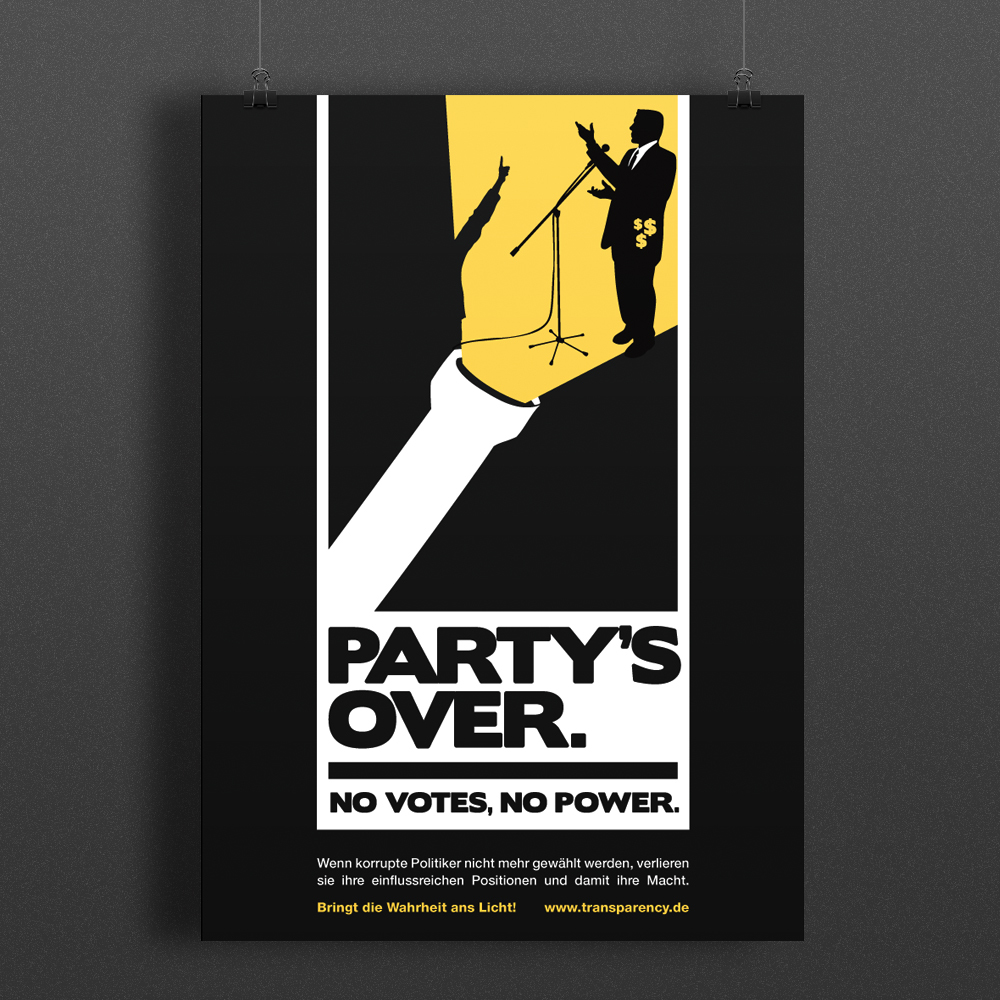 Partys over poster icon bigger