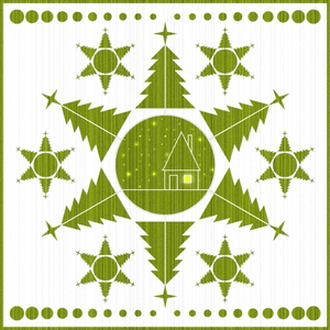 The green snowflake