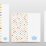 color dots UNICEF
