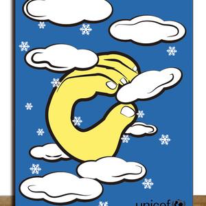 Snow hand