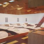 Sand-Fog-Glass Interactive Hologram