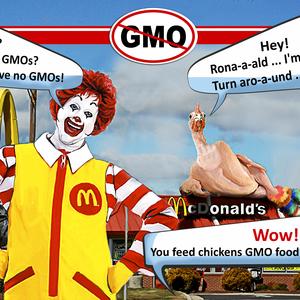 Ronald, turn around!