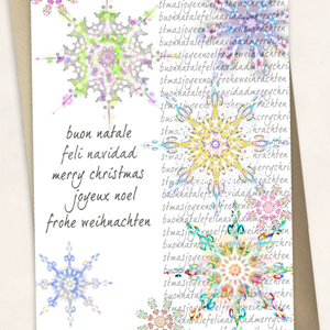 Jovoto greetings in different languages with many snowflakes greetings in different languages extra m4hsunfo