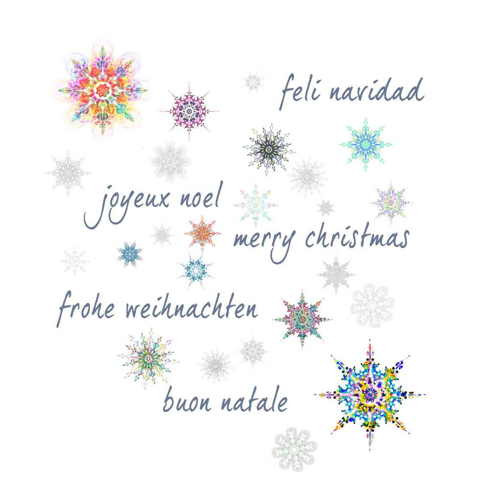 Jovoto greetings in different languages with many snowflakes jovoto greetings in different languages with many snowflakes white giving greeting cards unicef schweiz kristyandbryce Image collections