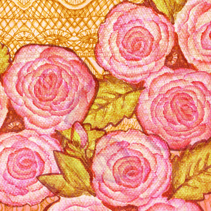 A Lace of roses
