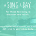 A Song A Day (asongaday.co)