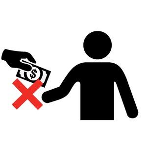 Do not bribe - uncertain