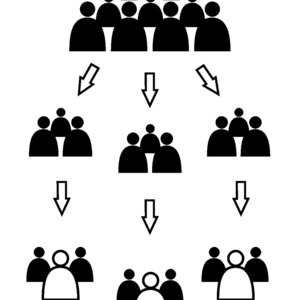 Please divide into groups. Please choose a group leader.